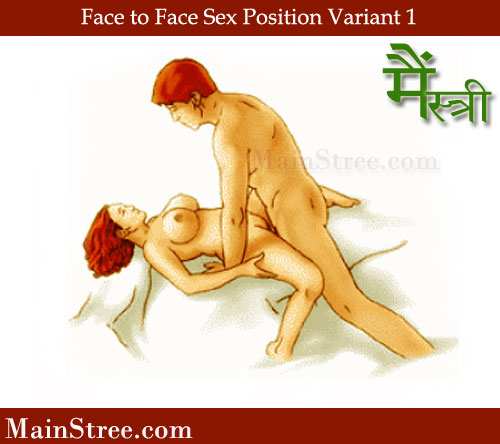 Face to Face Sex Position Variant 1